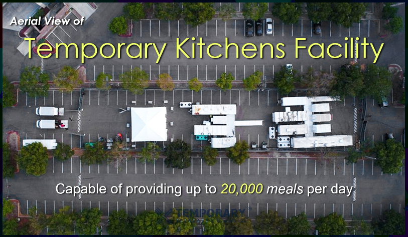 Temporary Kitchens Facility Full Set